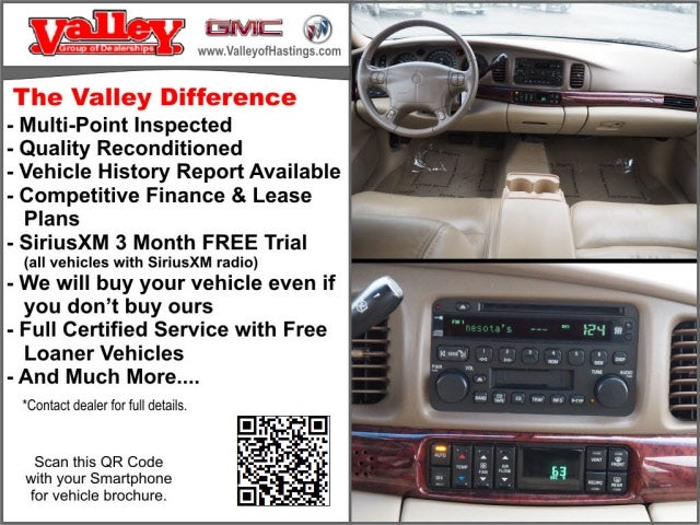 Used 2005 Buick LeSabre Limited with VIN 1G4HR54K65U278382 for sale in Hastings, Minnesota