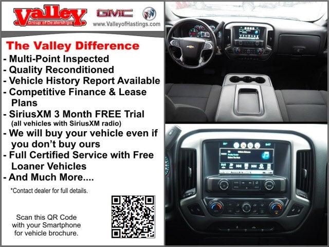 Used 2018 Chevrolet Silverado 1500 LT with VIN 3GCUKREC2JG469414 for sale in Hastings, Minnesota