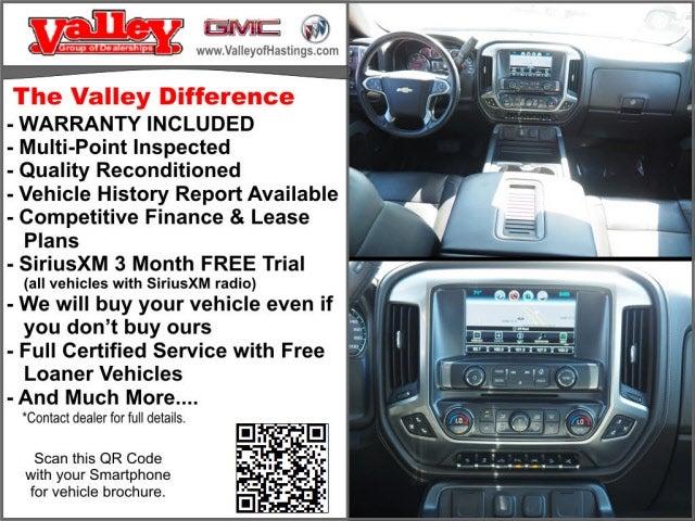 Used 2017 Chevrolet Silverado 1500 LTZ with VIN 3GCUKSEJ9HG215473 for sale in Hastings, Minnesota