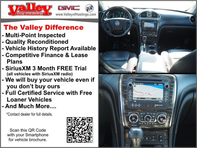 Used 2013 Buick Enclave Leather with VIN 5GAKVCKD0DJ198589 for sale in Hastings, Minnesota